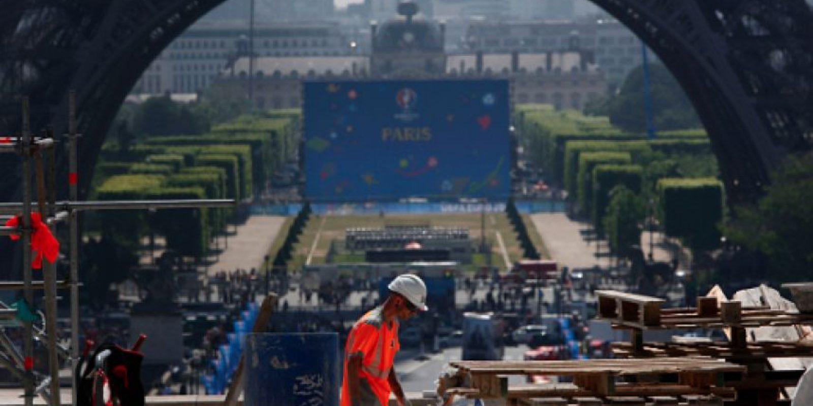 Prohibirán transmitir partidos de la Euro al aire libre Foto:Getty Images
