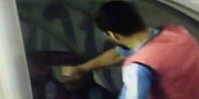 El delantero del Barcelona se enojó con el cuerpo técnico de Uruguay. Foto:Captura de pantalla
