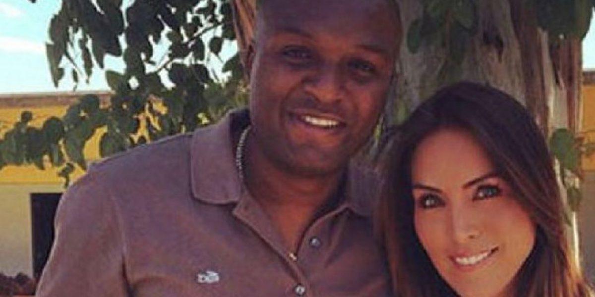 Aquivaldo Mosquera se realiza prueba de paternidad del hijo de Karla Pineda