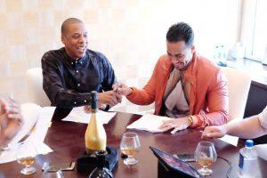 Jay Z y Romeo Santos fundan Roc Nation Latin para apoyar al talento latino Foto:Gettyimages