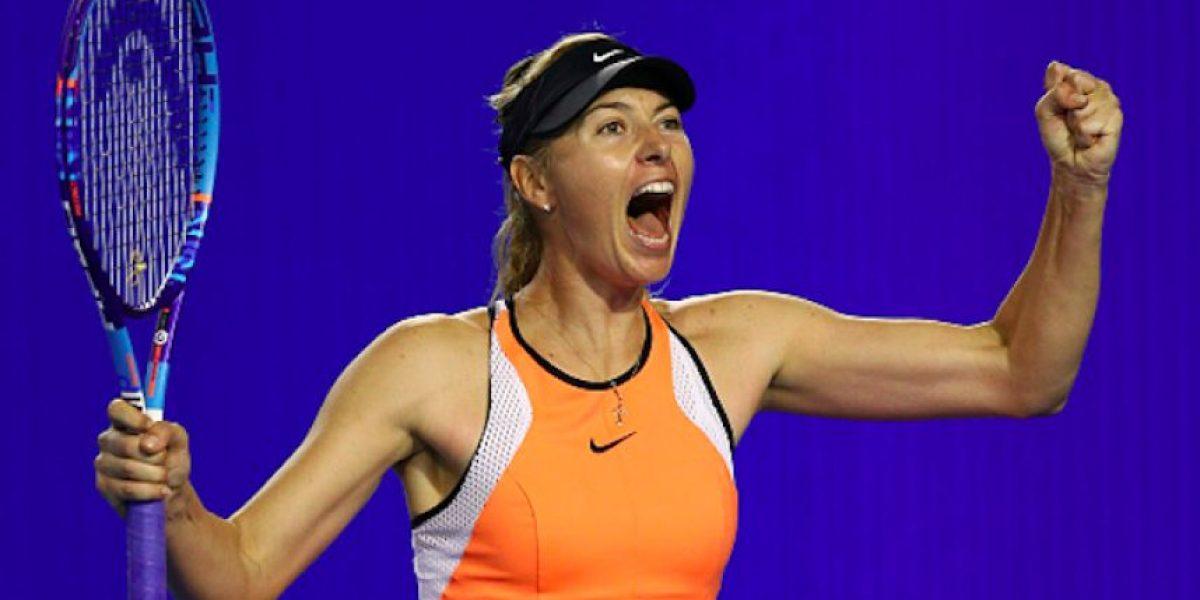 Pese a la suspensión, patrocinadores refrendan apoyo a Sharapova
