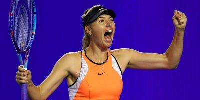 María Sharapova fue suspendida por dos años del tenis profesional. Foto:Getty Images