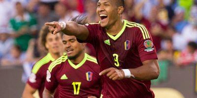 Rondón hizo el único gol del encuentro. Foto:Getty Images