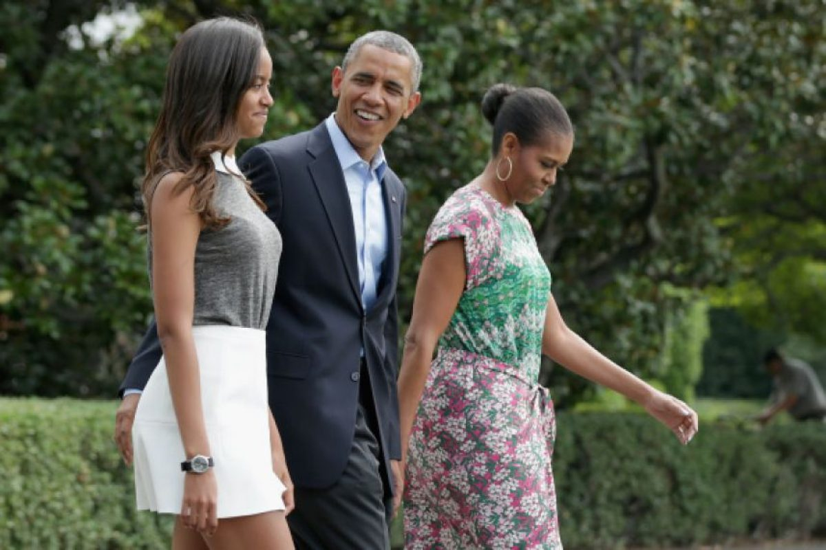 Malia se gradua de la preparatoria  Foto: Getty Images