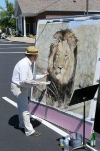 Se realizaron pinturas del león Foto:Getty Images