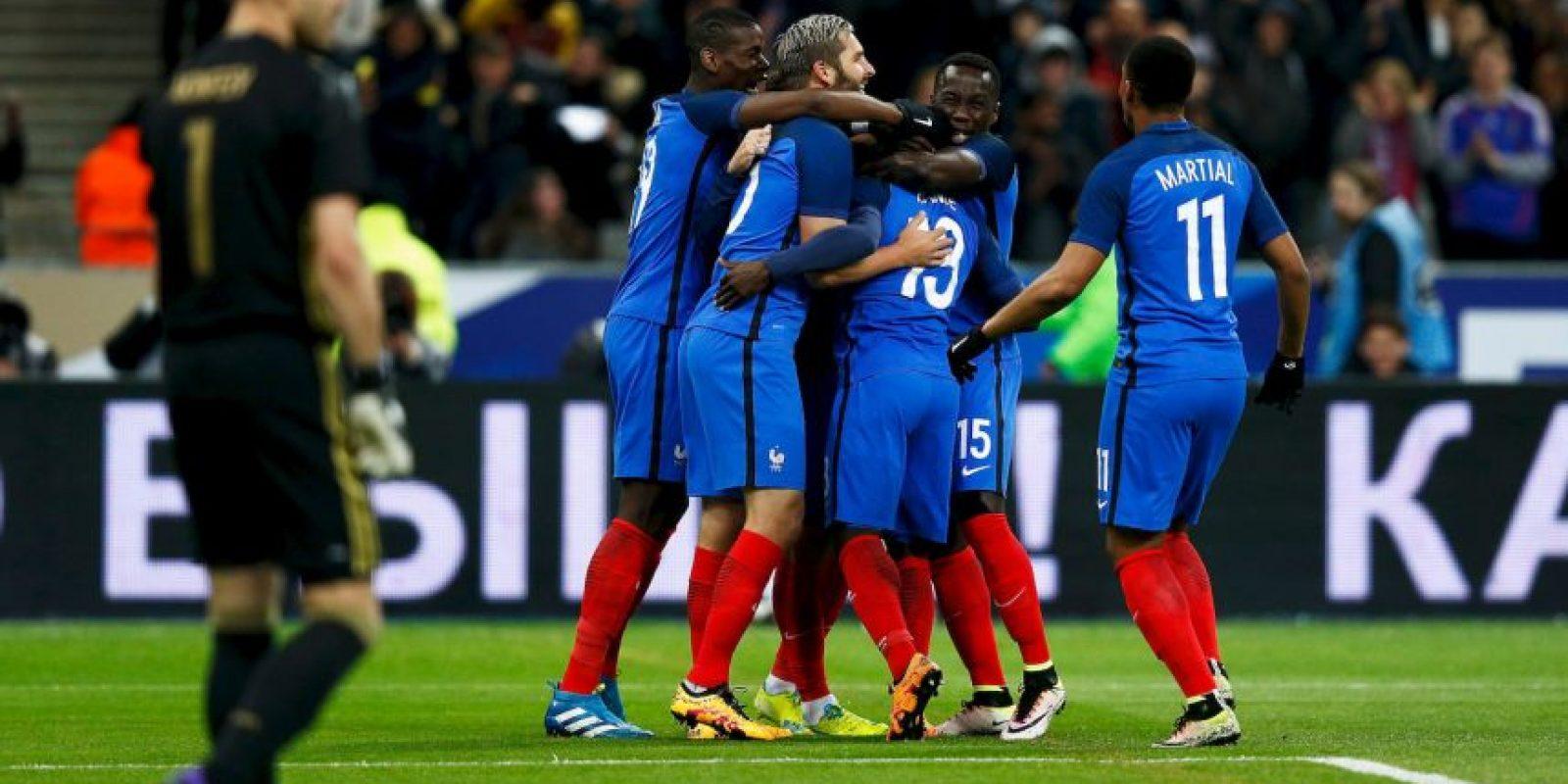 3. Francia – 487 millones de euros Foto:Getty Images