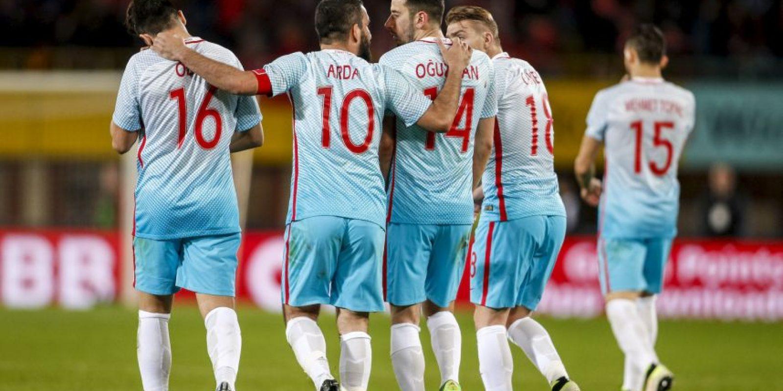 Las selecciones más valiosas de la Euro 2016: 10. Turquía – 182.5 millones de euros Foto:Getty Images