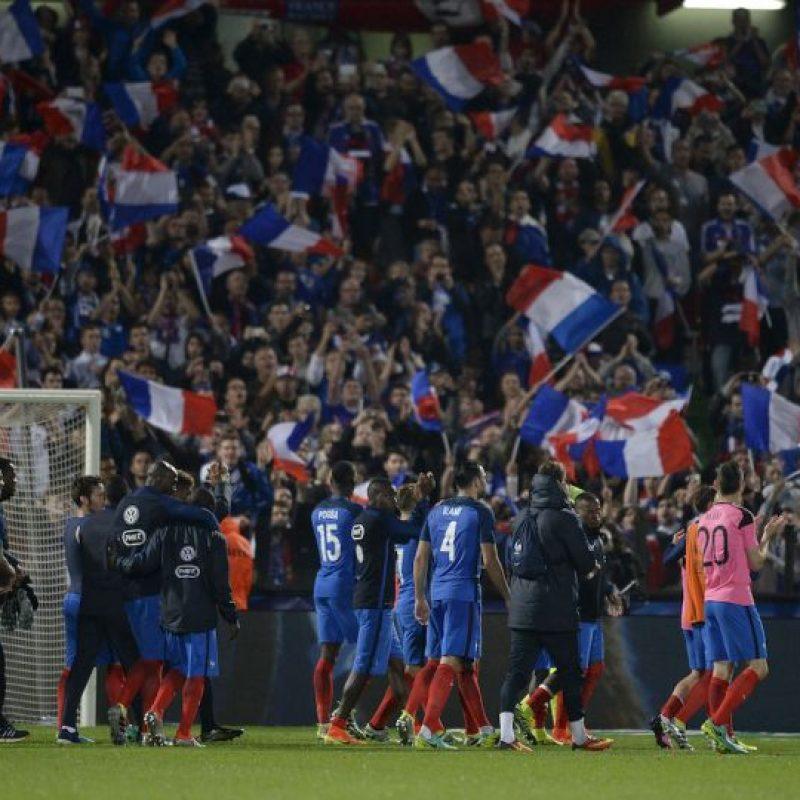 Francia debuta en su Eurocopa ante Rumania. Los galos esperan revalidar en el primer partido su cartel de favorito Foto:Getty Images