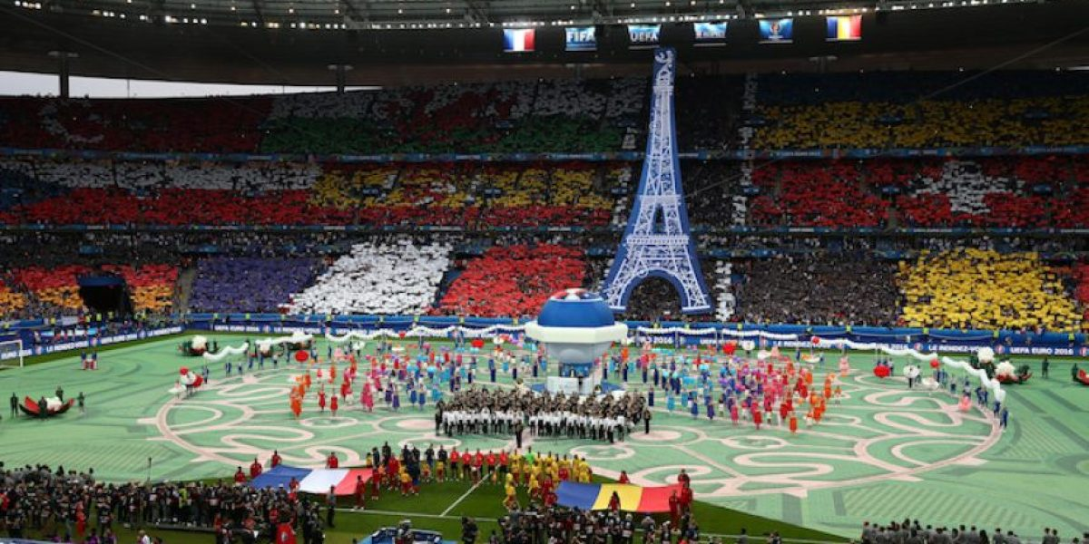 VIDEO: ¡Tradición y modernidad! Así se vivió la inauguración de la Euro 2016