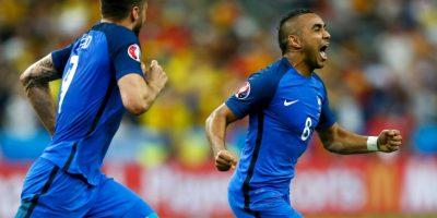 Los franceses sufrieron para ganarle a Rumania, pero lo consiguieron con un golazo de Dimitri Payet Foto:Getty Images