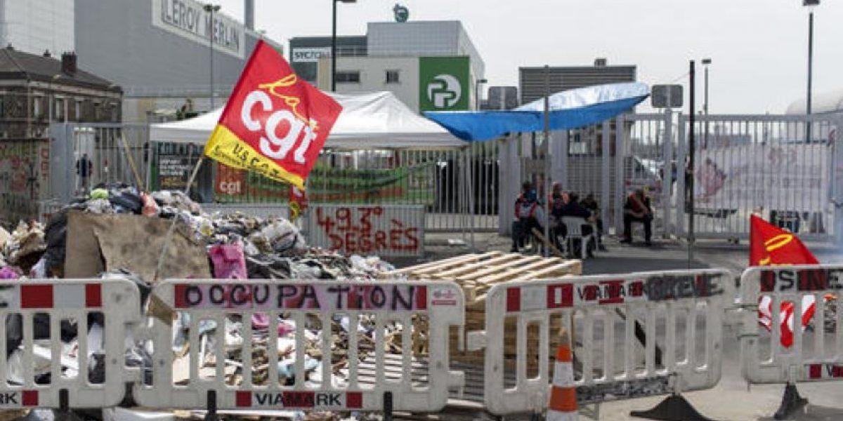 Trenes y recogidas de basura afectadas por huelgas en Francia