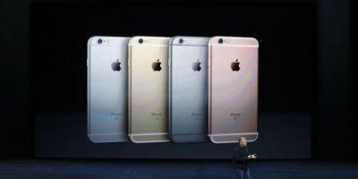 El iPhone se encuentra en 4 colores diferentes. Foto:Getty Images
