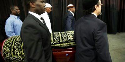 Le dieron una emotiva despedida a Muhhamad Ali Foto:AP