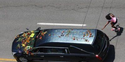 Muhammad Ali recorrió por última vez su natal Louisville