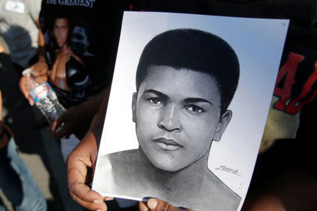 Muhammad Ali recorrió por última vez su natal Louisville Foto:AP