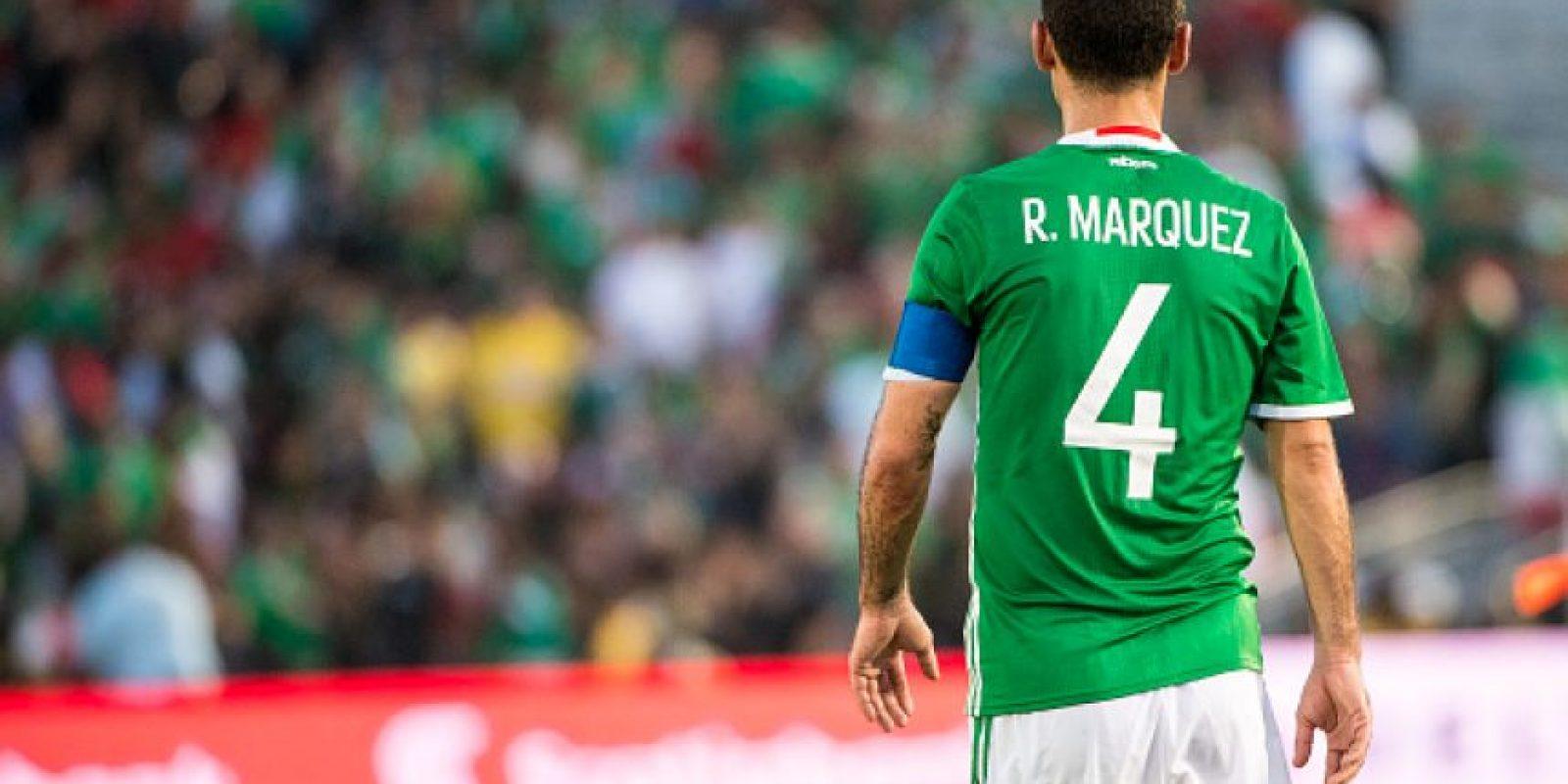Rafael Márquez prefiere evitar a Argentina en Copa América Foto:Getty Images