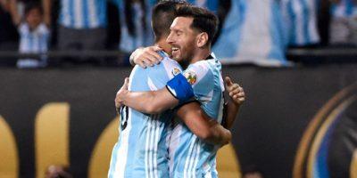 Lionel Messi ingresó en el segundo lapso y anotó tres de los cinco goles de Argentina. Foto:Getty Images