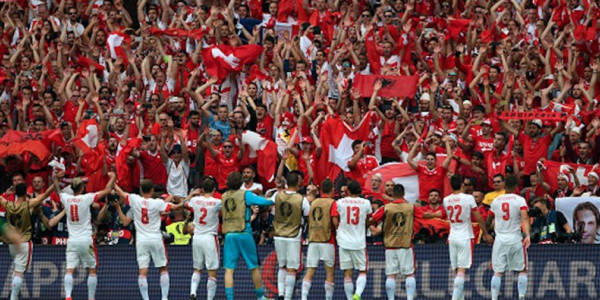 Suiza derrota a Albania en el segundo día de la Euro 2016