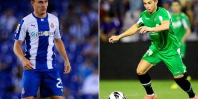 """Abraham González y Rubén Castro serían dos jugadores que """"Paco"""" Palencia quiere en la UNAM. Foto:Especial"""