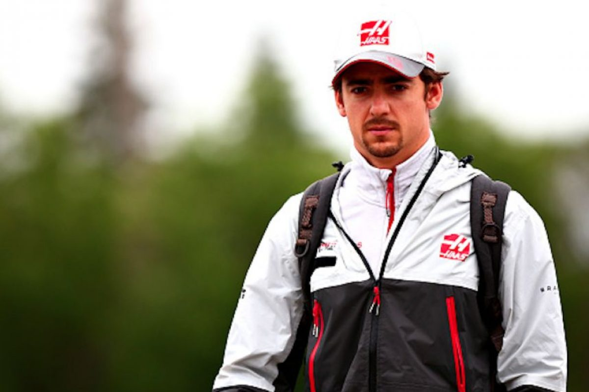 Esteban Gutiérrez, mexicano de Haas. Foto: Getty Images