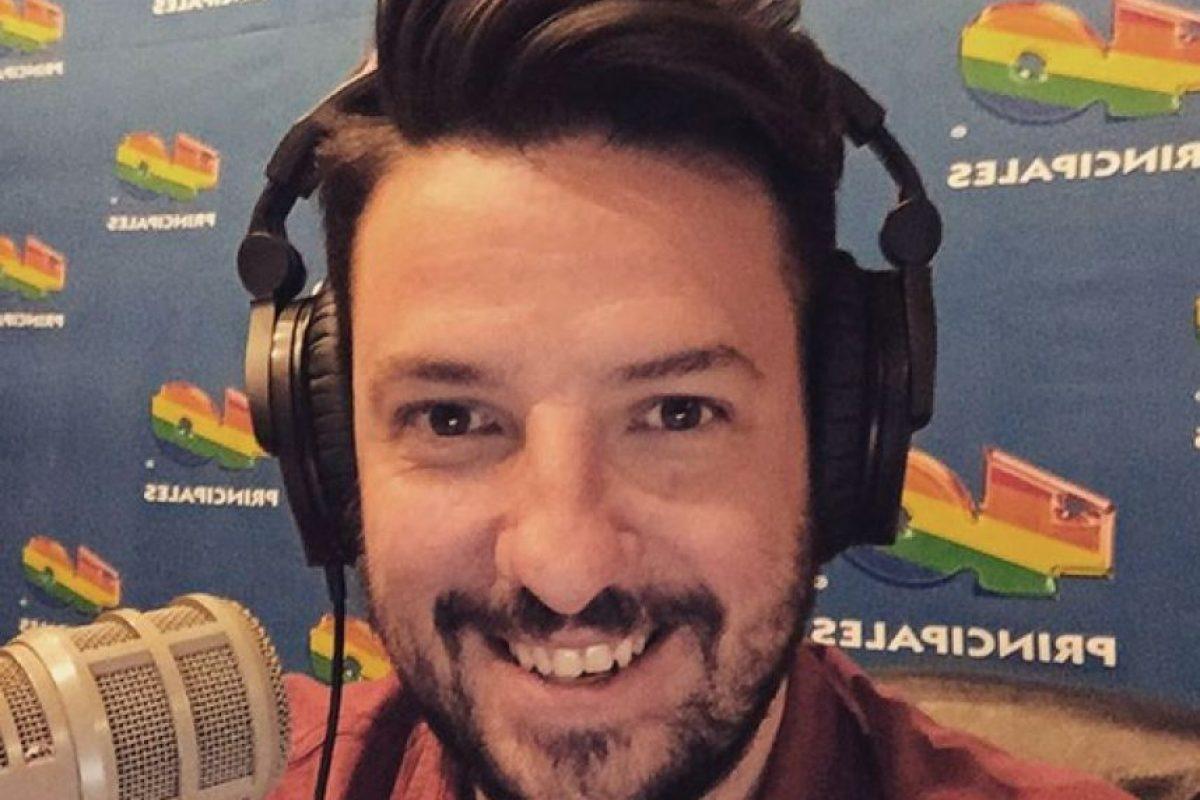 Iñaki Álvarez, también surgió de TDN y ahora conduce La Jugada. Foto:Instagram