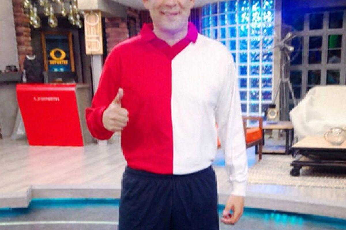 Humberto Valdés, exjugador de Cruz Azul y analista deportivo. Foto:Instagram