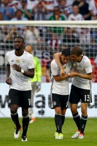 Alemania vs. Ucrania Foto: Getty Images