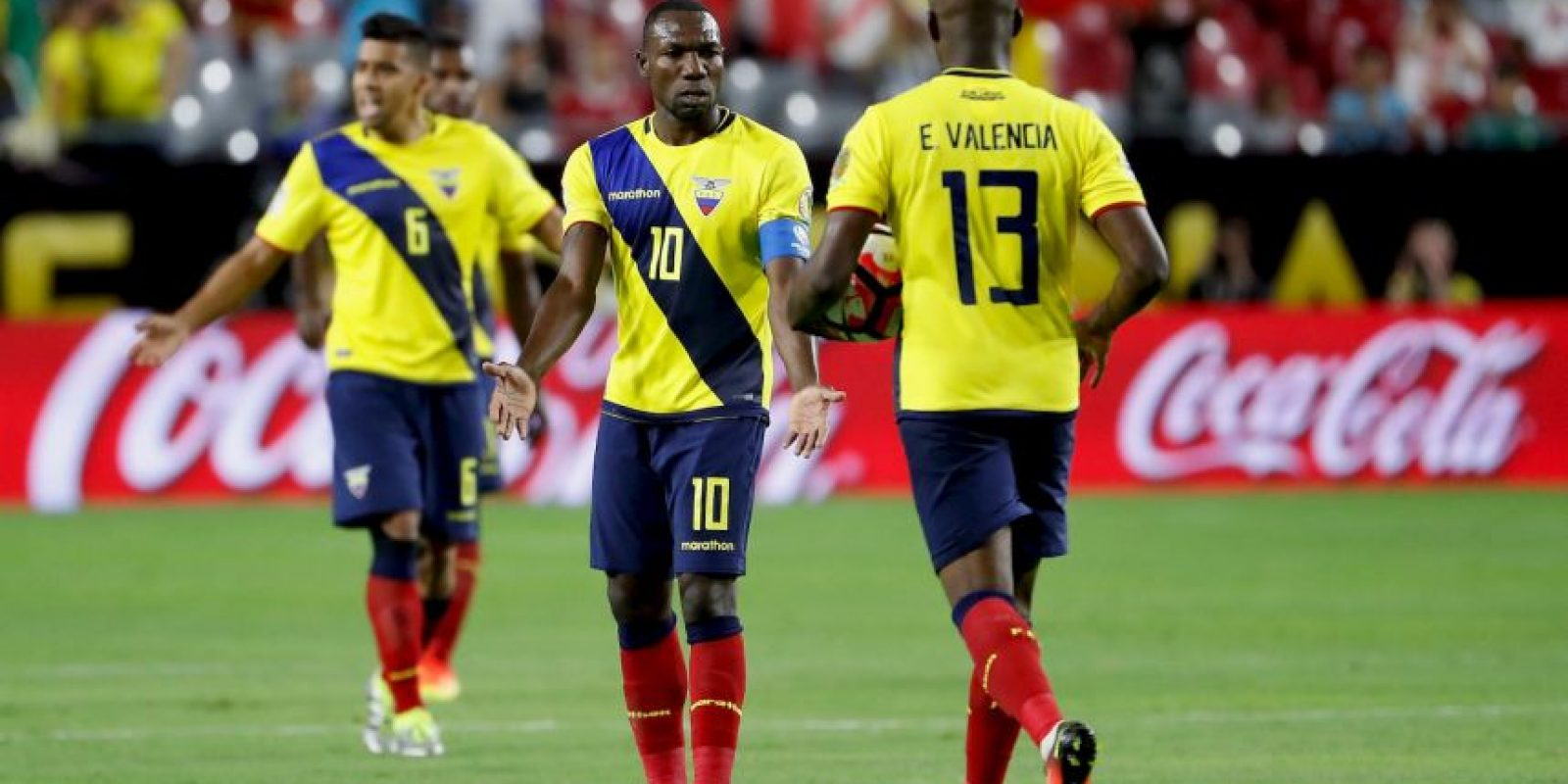 Ecuador vs. Haití Foto: Getty Images