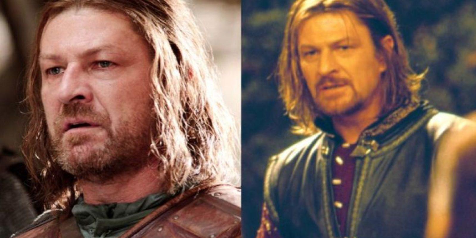 """Sean Bean, con su personaje de """"Ned Stark"""", ha muerto 25 veces en el cine. Acá, como Boromir en """"El Señor de los Anillos"""". Que también murió, claro. Foto:HBO/New Line Cinema"""