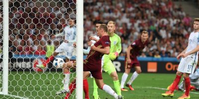 Rusia empata 1-1 con Inglaterra con gol de último minuto Foto:Getty Images
