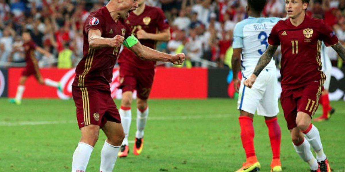Rusia acabó con la felicidad inglesa en el debut en Eurocopa