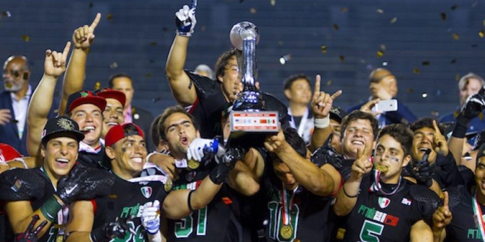 En la Final, los 'aztecas' derrotaron a los Estados Unidos. Foto:Mexsport