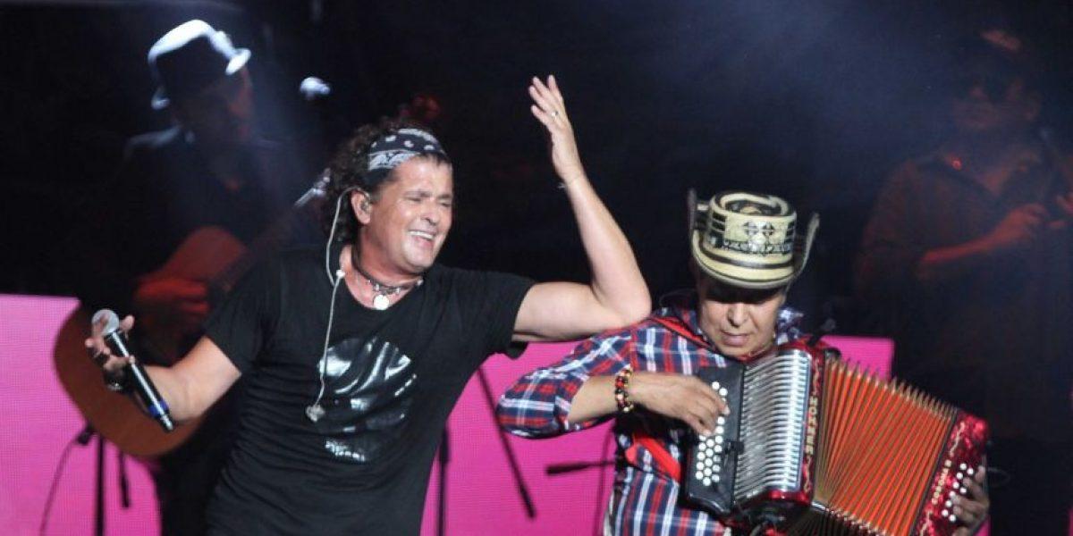 Carlos Vives rinde homenaje a José Alfredo Jiménez en el Zócalo