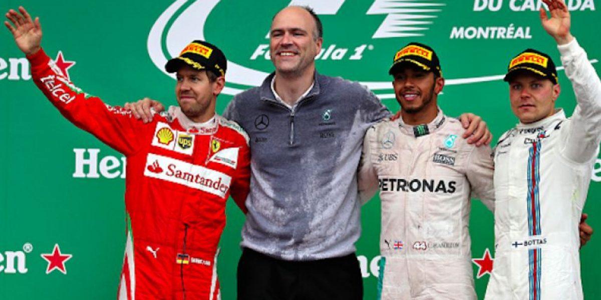 Hamilton gana en Canadá y