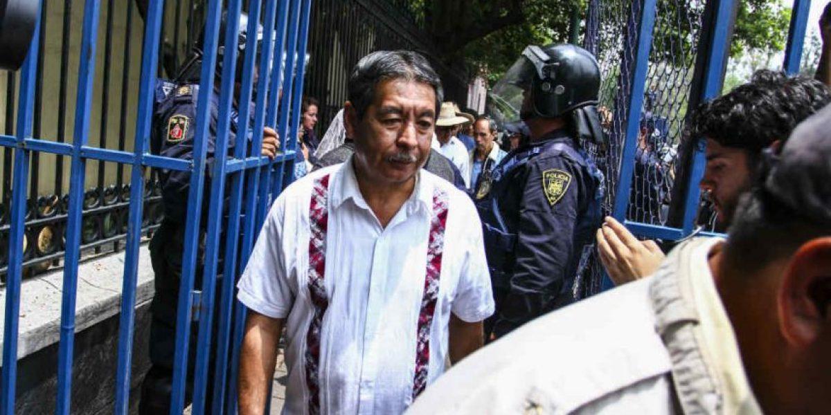 Integrantes de la CNTE no dejaron ningún documento: Presidencia