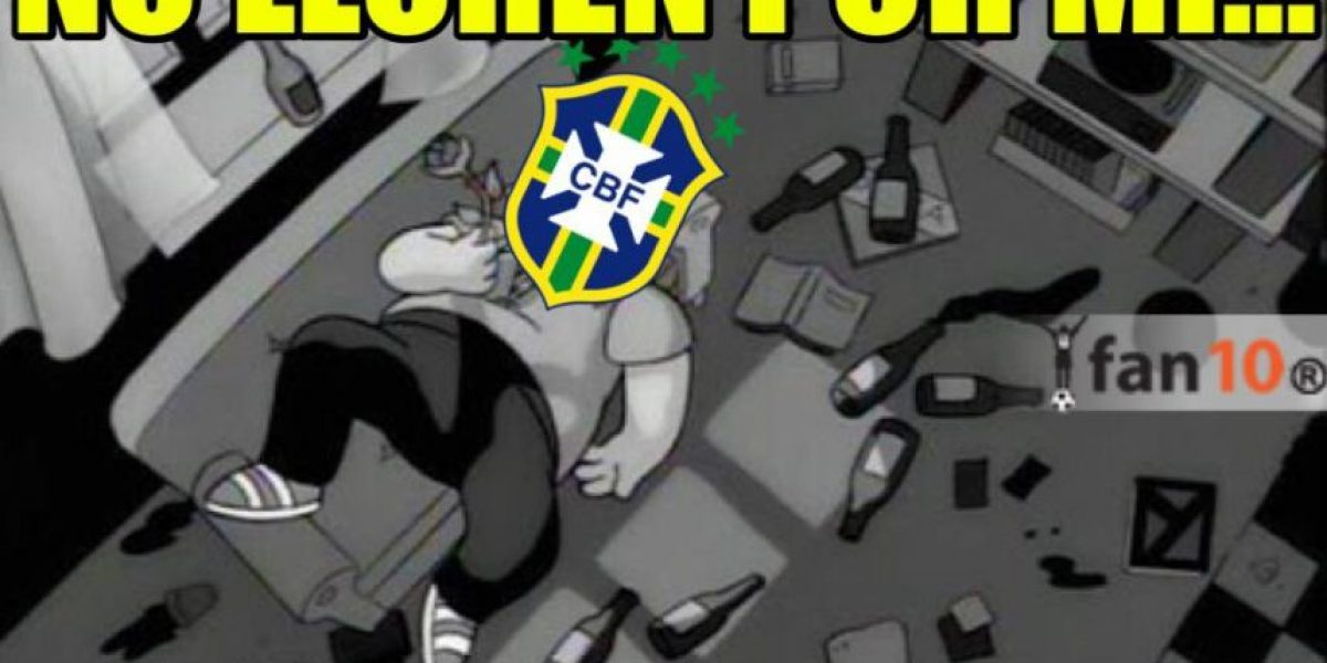 Con memes se burlan del fracaso de Brasil en Copa América