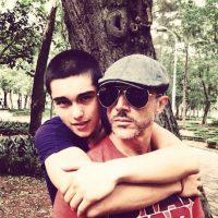 Sergio Mayer y Sergio Mayer Mori Foto:Instagram/sergiomayerb