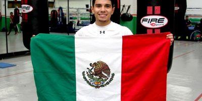 El boxeador mexicano Joselito Velázquez Foto:Nicolás Corte