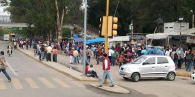 Los maestros regresaron sin que nadie les impidiera el paso Foto:ADNSureste