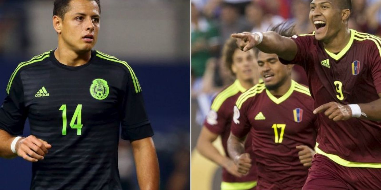 México vs. Venezuela Foto: Getty Images