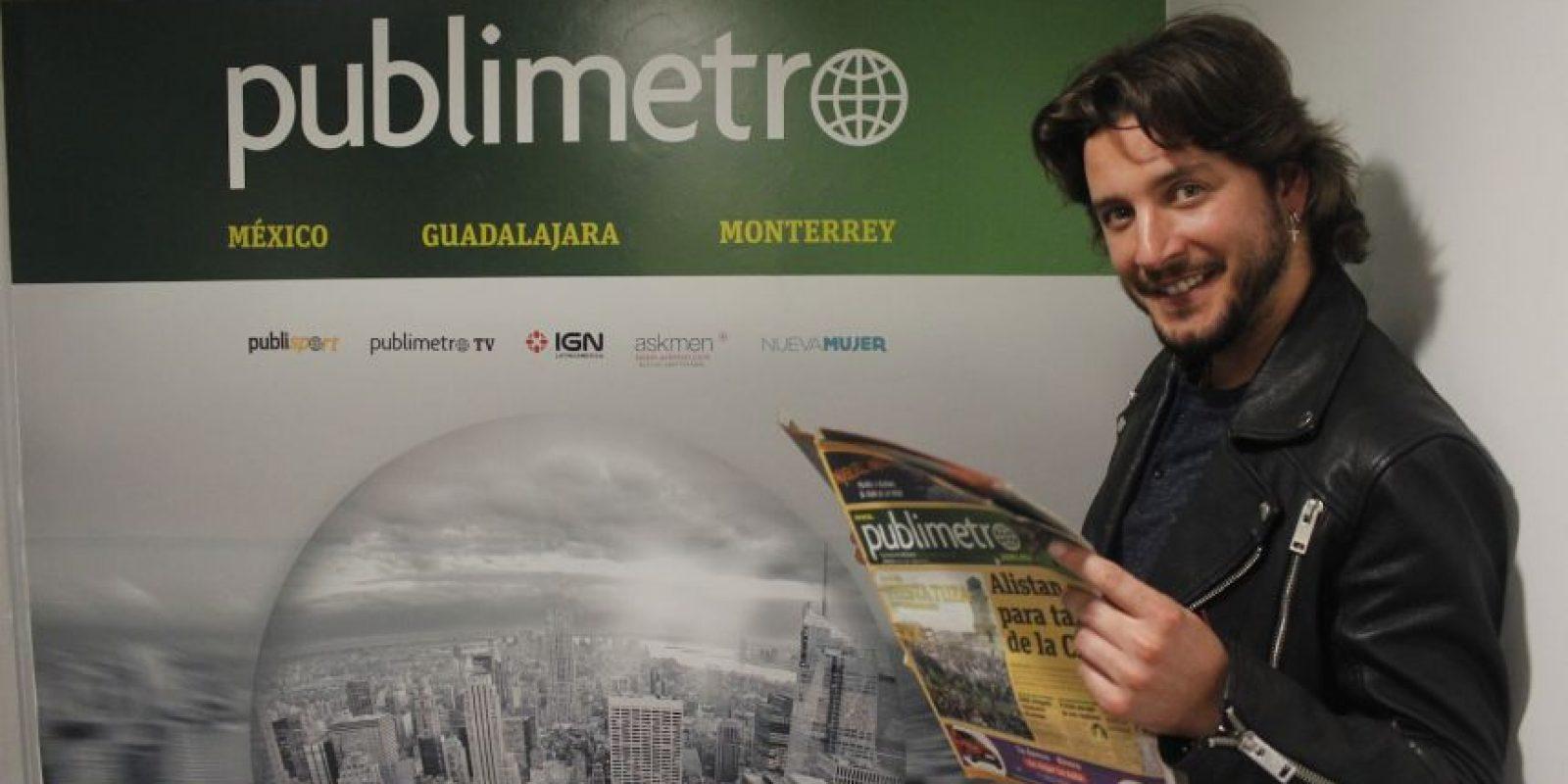 Manuel Carrasco Foto:Alberto Hernández – Publimetro