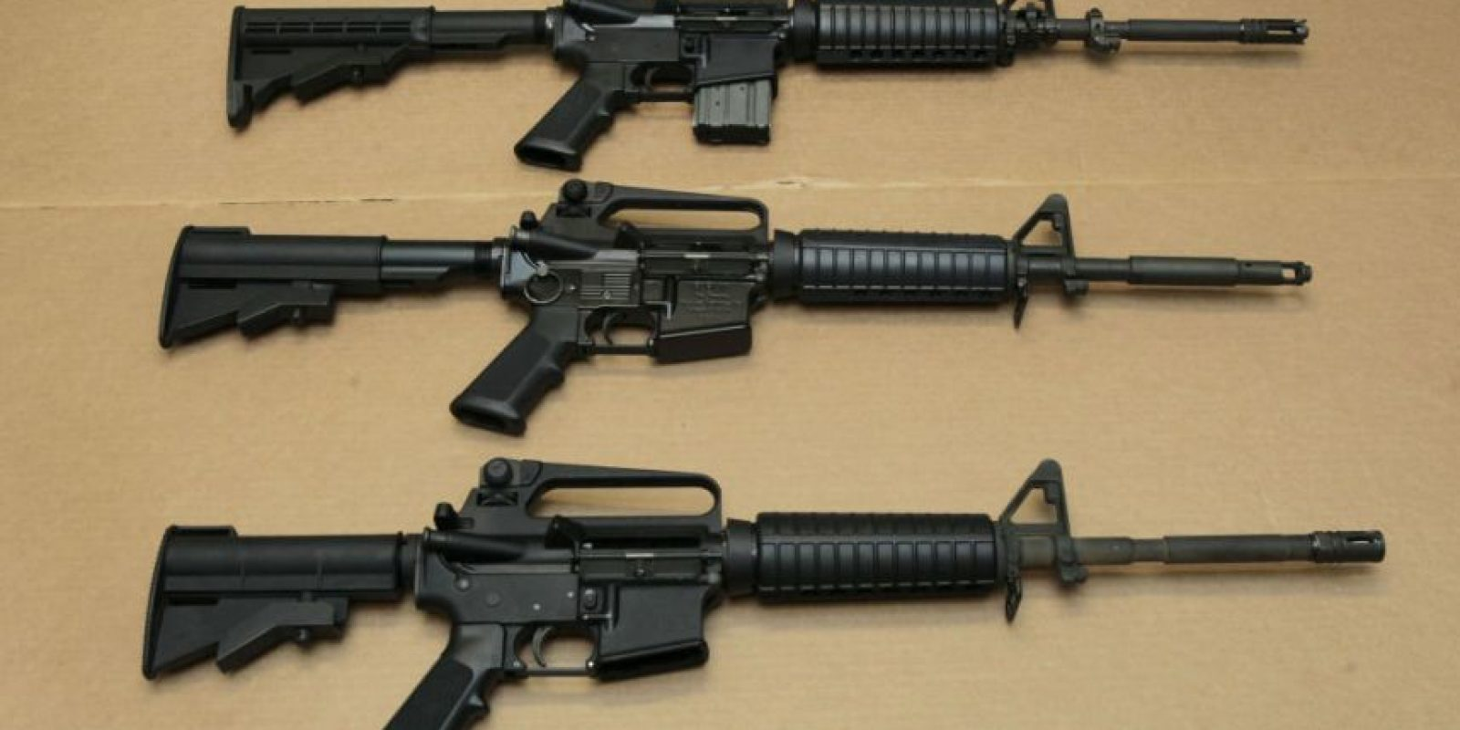 Los títulos de Smith & Wesson subían 6.31% Foto:AP