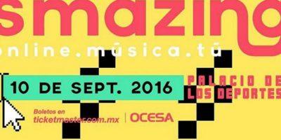 El festival Smazing pretende llevar lo mejor de internet a la vida real Foto:Ocesa