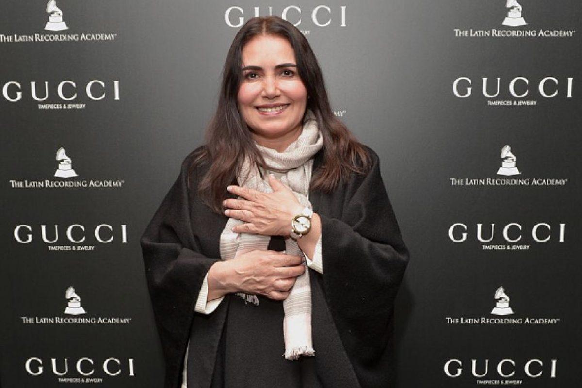 Tania Libertad es capaz de llenar un auditorio con su sola voz. Ha ganado el Latin Grammy Lifetime Achievement por su impresionante carrera musical. Foto:Gettyimages