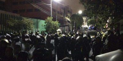 La policía ya retomó en control del mismo Foto:cuartoscuro