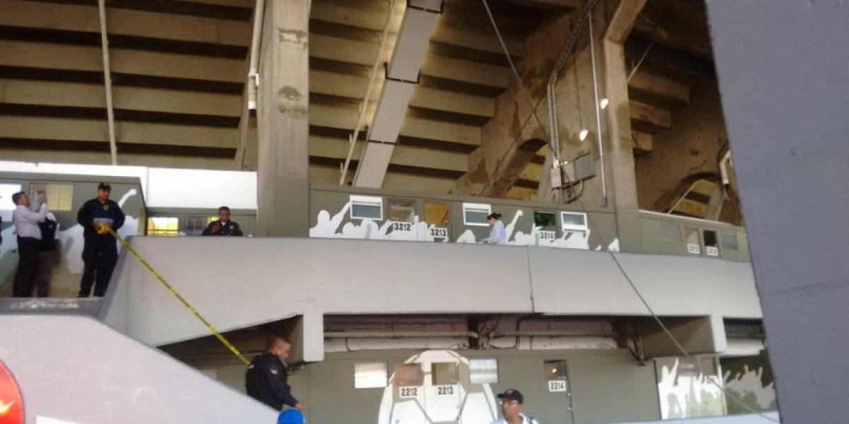 Muere trabajador en el Estadio Azteca