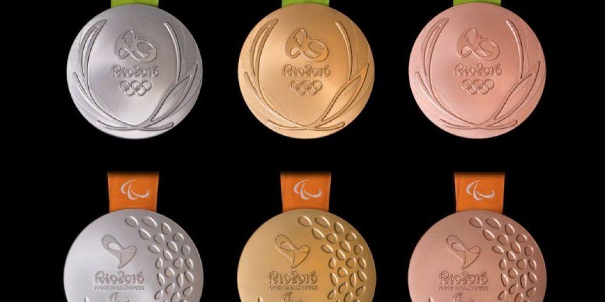 Presentan medallas para los Juegos Olímpicos y Paralímpicos Río 2016