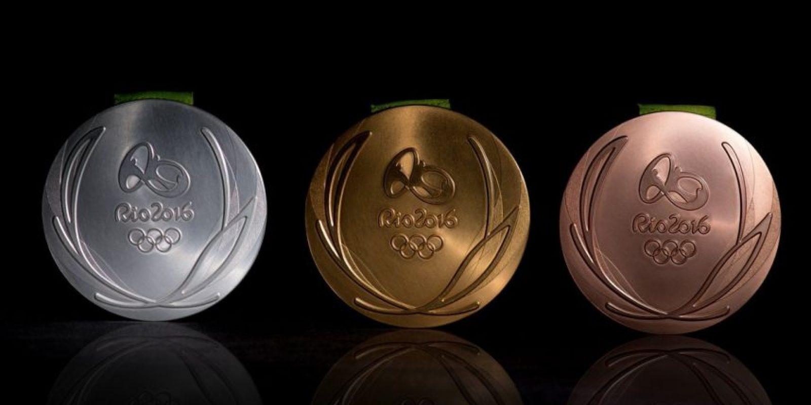Medallas Olímpicas Foto:@rio2016_es