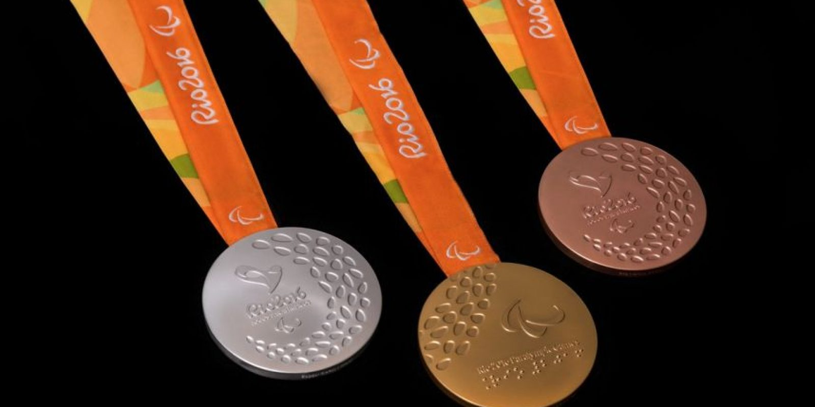 Medallas Paralímpicas Foto:@rio2016_es