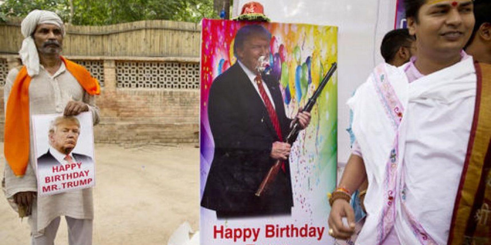 Trump se ha referido a la India en varias ocasiones durante su campaña, con mucha ambigüedad, pero lo que ha gustado a los radicales han sido sus comentarios contra el vecino Pakistán. Foto:AP/ Archivo